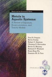 Metals in aquatic systems
