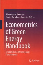 Econometrics of green energy handbook